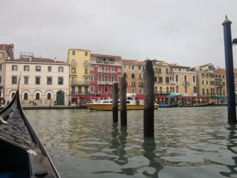 Venice from A Gondala by Fury7