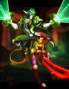 Of medics and warriors by Retromissile