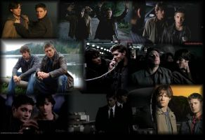 Supernatural Wallpaper Thingy by Raenstrife