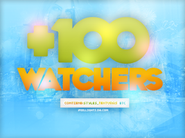 +100 Watchers|PACK| by iFeelLights