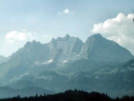 Mountains in Austria by blackrose1959