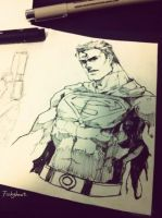 superman by fish-ghost