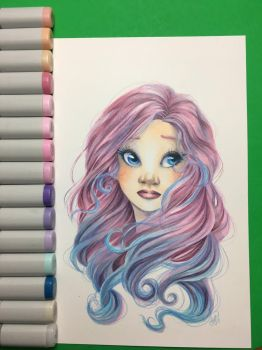 Cotton Candy  by ValerieGallery