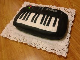 Casio B-Day Cake by ShamanEileen