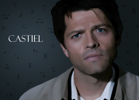 Castiel- Headtilt by Cally-wally