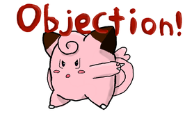 Clefairy Objection! by LunaClefairy