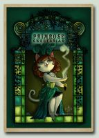 Primrose Character Card by Tsuchan