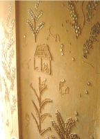 Wall art Plaster by Vermillioned