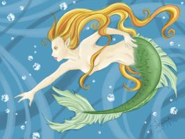 The Mermaid colored by Norloth