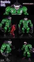 Symbiote Hulk Strip by Jin-Saotome