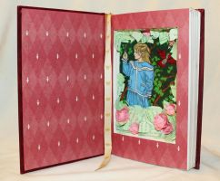 The Secret Garden Book Alteration by wetcanvas