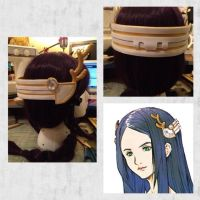 Commission: Yeul Headpiece by xXSnowFrostXx