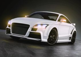 Audi TT RS tuning by the-alkspain