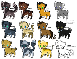 12 Cheap Or Free Cats -  3 ARE STILL OPEN!! by PI0SON
