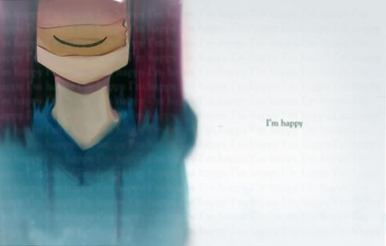 I'm Happy by paintausea