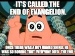 It's called the End of Evangelion by Gollum123