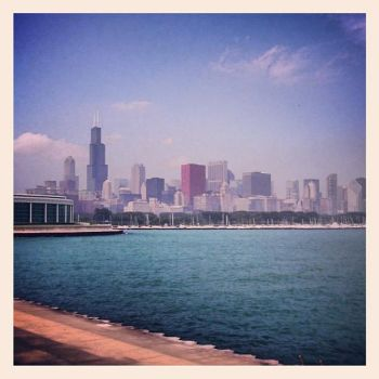 Chicago Skyline by bgfilly