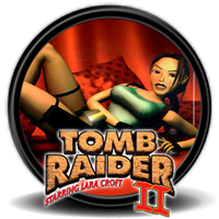 Tomb Raider 2 (1997) - Icon by Blagoicons