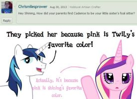 Ask Shining Armor 19: Filly-Sitter by 9mmBrony
