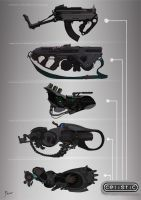 Weapon concept (2) for Celistic by ancientfear