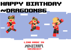 'birthday card' for dragoon86 by TheLupineOne