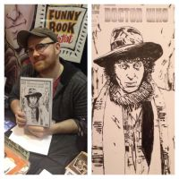 The Fourth Doctor convention sketch by RobertHack
