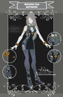 CLOSED Adoptable Outfit Auction: MSP Black by Hassly