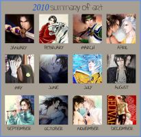 2010 summary of art by snowhaven