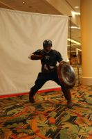 Omni Expo 2014: Captain America by pgw-Chaos