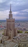the tallest building in Poland... by Mario666x