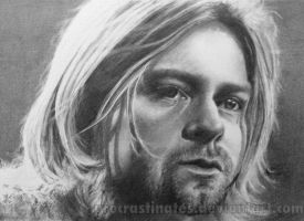 Kurt Cobain by JaneyArt
