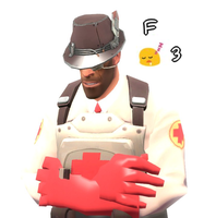 TF2emoji - F3 with Dr.Bendova by Queen-Koopa