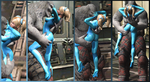 Juliet's Secret Cosplay Addiction! -Zero Suit- by VoreQ