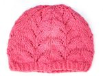pink hat by tinyowlknits