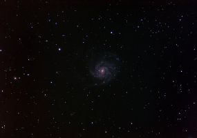 Pinwheel Galaxy M101 by quicksimon