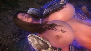 Skyrim: The Sleeper Agent ALT1 (New Skimpy Armor) by blacknessofwhite3D