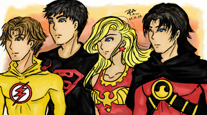 Teen Titans by Rin-Amami