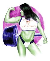 She-Hulk 2010 by jfife