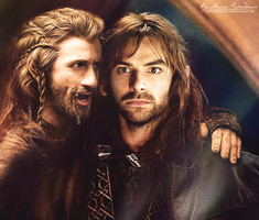 Fili and Kili by AnnaProvidence