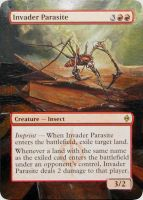 MTG Altered Card: Invader Parasite by idielastyr