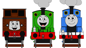 Guess this Thomas Scene (July) by Percyfan94