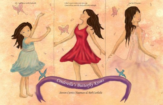 Cinderella's Butterfly Kisses Poster by DrTran08