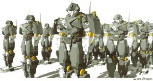 band of troopers (3D) by NOMANSNODEAD