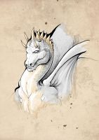 White Dragon by CanteRvaniA
