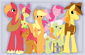 Apple Family Poster 2014 by lupie1324