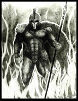Formidable Spartan by Art-of-the-Seraphim