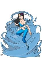 Water Babe by Halfax