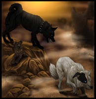 Forlorn dogs by Dalkur