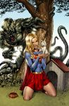Supergirl colored by Dominic-Marco