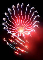Fireworks: Long Exposure: no.4 by JustinMs66